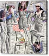 Les Demoiselles Of Santa Cruz V8 Acrylic Print