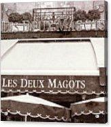 Les Deux Magots - #2 Acrylic Print