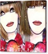 Les Filles Rouget Acrylic Print