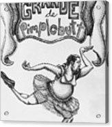 Les Grande De Pimplebutt Acrylic Print