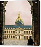Les Invalides Paris Acrylic Print