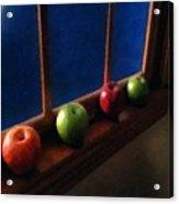 Les Pommes De La Lune Acrylic Print