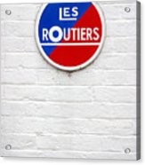 Les Routiers Acrylic Print