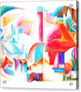 Les Temps Modernes Acrylic Print