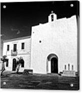 Fortified Church, Formentera Acrylic Print