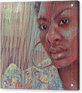 Leslie K Acrylic Print