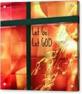 Let Go Acrylic Print