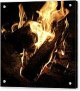 Let It Burn Acrylic Print