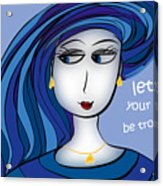 Let Not Your Heart Be Troubled Acrylic Print