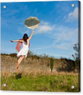 Let The Breeze Guide You Acrylic Print by Semmick Photo