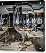 Let The Wine Tasting Begin Acrylic Print by Julie Palencia
