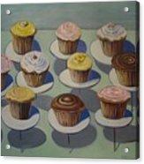 Let Them Eat Cupcakes Acrylic Print