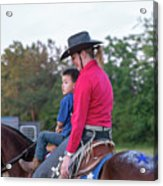 Let Your Babies Grow Up To Be Cowboys Acrylic Print