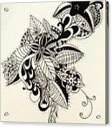Let Your Pen Flow Acrylic Print