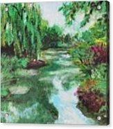 L'etang De Claude Monet, Giverny, France Acrylic Print