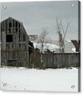 Letchworth Barn 0077b Acrylic Print