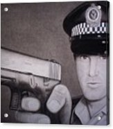 Lethal Force Acrylic Print