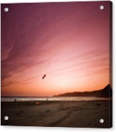 Lets Go Fly A Kite Acrylic Print by Angel  Tarantella