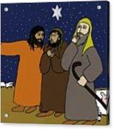 Let's Go To Bethlehem Acrylic Print