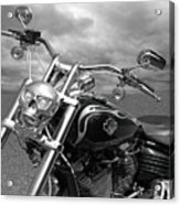 Let's Ride - Harley Davidson Motorcycle Acrylic Print