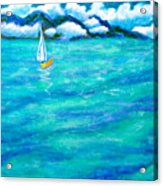 Let's Sail Away Acrylic Print