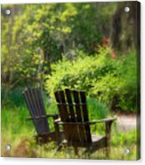 Let's Talk Together Acrylic Print