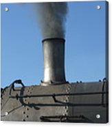 Letting Off Some Steam Acrylic Print