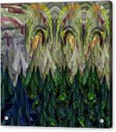 Lettuce Greens Radish Forest Acrylic Print
