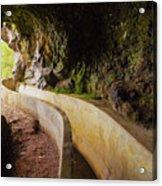 Levada Da Serra Do Faial, Madeira Acrylic Print