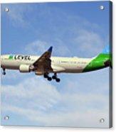 Level Airbus A330-202 Acrylic Print