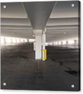 Levels Of A Parking Structure Acrylic Print