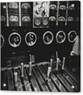 Levers And Gauges Acrylic Print