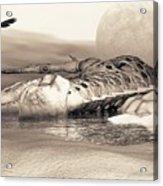 Leviathan's Lament Acrylic Print