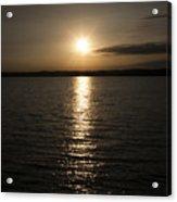 Lewis And Clark Lake Acrylic Print