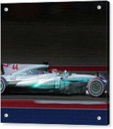 Lewis Hamilton Formula 1 Acrylic Print
