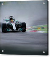 Lewis Hamilton Monza 2017 Acrylic Print