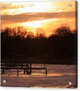 Lexington Harbor Sunset Acrylic Print