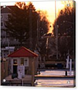 Lexington Harbor Acrylic Print