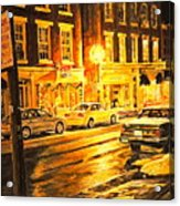 Lexington Street Light Acrylic Print