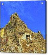 Leydon Hill With Cave Acrylic Print