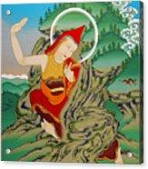 Lhalung Pelgi Dorje Acrylic Print
