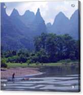 Li River - 196 Acrylic Print