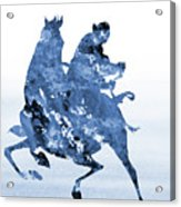 Li Shang-blue Acrylic Print
