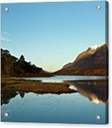 Liathach Sunrise Reflections Acrylic Print
