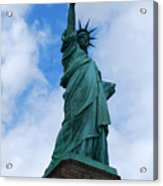 Liberty 2 Acrylic Print by Lorena Mahoney