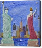 Liberty And Justice  Acrylic Print