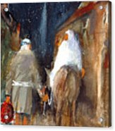 Liberty - Arriving In Bethlehem Acrylic Print