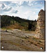 Liberty Cap - Yellowstone Acrylic Print