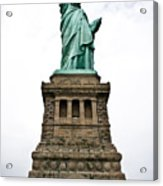 Liberty Enlightening The World Acrylic Print