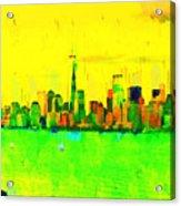 Liberty In New York - Pa Acrylic Print
